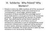 iii solidarity why poland why workers