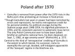 poland after 1970