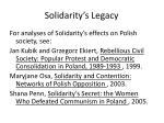 solidarity s legacy