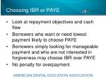choosing ibr or paye1