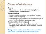 causes of wind ramps2