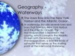 geography waterways1