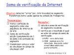 soma de verifica o da internet