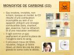 monoxyde de carbone co