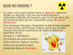 quid du radon