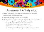 assessment affinity map1