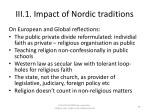 iii 1 impact of nordic traditions