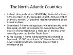the north atlantic countries