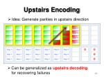 upstairs encoding