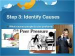step 3 identify causes