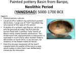 painted pottery basin from banpo neolithic period yangshao 5000 1700 bce