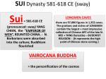 sui dynasty 581 618 ce sway