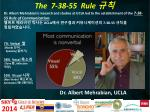 the 7 38 55 rule