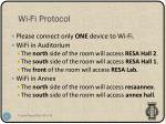 wi fi protocol