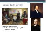 monroe doctrine 1823
