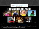 see seven deadly sins powerpoint