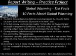 report writing practice project10