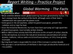 report writing practice project14