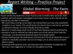 report writing practice project16