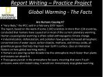 report writing practice project5