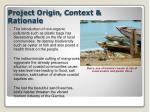 project origin c ontext rationale