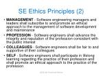 se ethics principles 2
