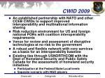 cwid 2009