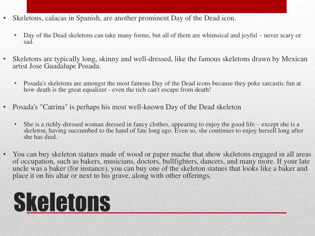 PPT - Día de los Muertos Day of the Dead PowerPoint