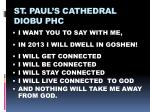 st paul s cathedral diobu phc1