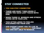 stay connected4