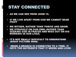 stay connected6