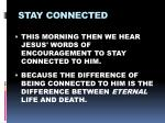 stay connected9
