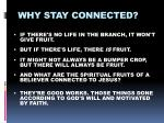 why stay connected5