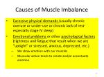 causes of muscle imbalance1