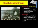 revolutionary groups