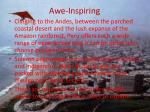awe inspiring