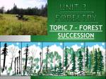 unit 3 forestry