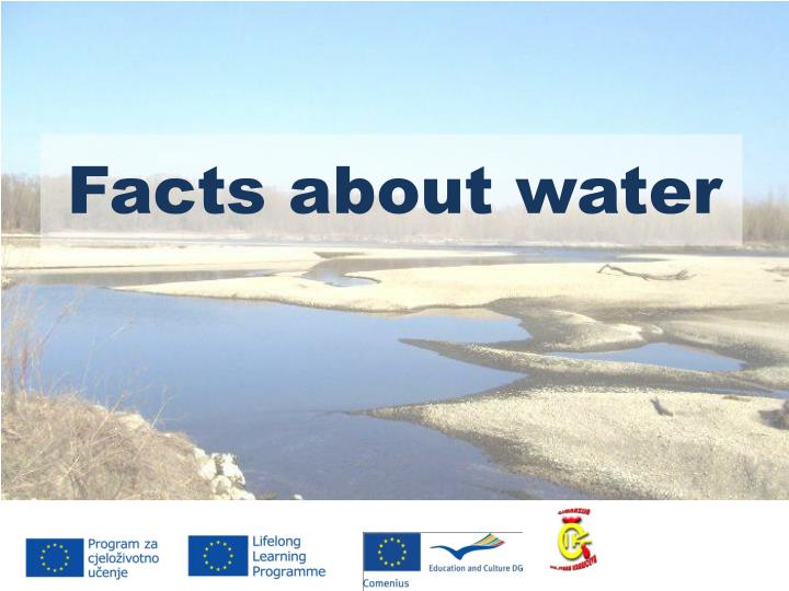facts about water n.