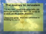 the journey to jerusalem122