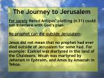 the journey to jerusalem125