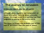 the journey to jerusalem13