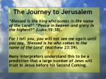 the journey to jerusalem142
