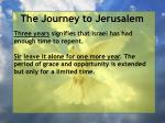 the journey to jerusalem21