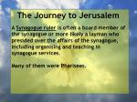 the journey to jerusalem43