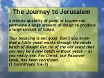 the journey to jerusalem60