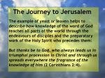 the journey to jerusalem62