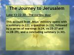 the journey to jerusalem66