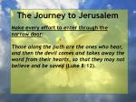 the journey to jerusalem75
