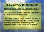 the journey to jerusalem76