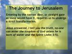 the journey to jerusalem77